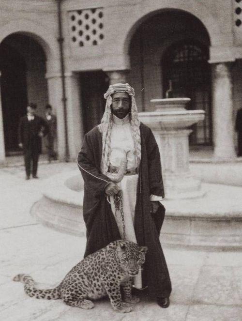 King Faisal of Iraq. Faisal bin Hussein bin Ali al-Hashimi, (5/20/1885-9/8/1933) was King of the Arab Kingdom of Syria or Greater Syria in 1920, and was King of Iraq from 8/23/1921 to 1933. He was a member of the Hashemite dynasty. (V)