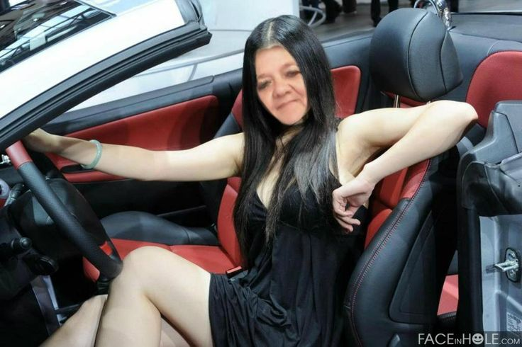 FACEinHOLE - GIRL IN CAR