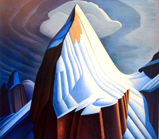 Mount Lefroy, by Lawren Harris Canadian Group of Seven Painting