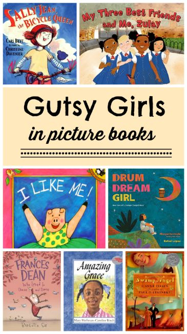 How about a picture book that features girls who are brave, kind, self-aware, and all-around great role models? Celebrate Women's History Month with a gutsy girl!