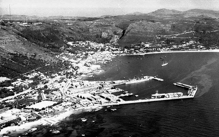 Simonstown Harbour.            1946.