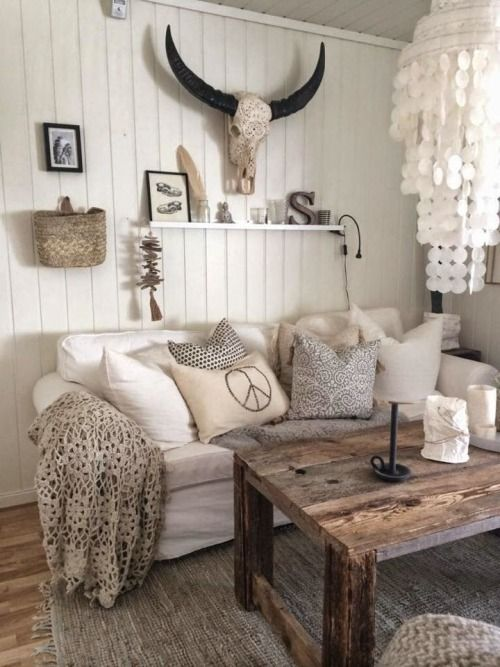 Neutrals and rustic chic