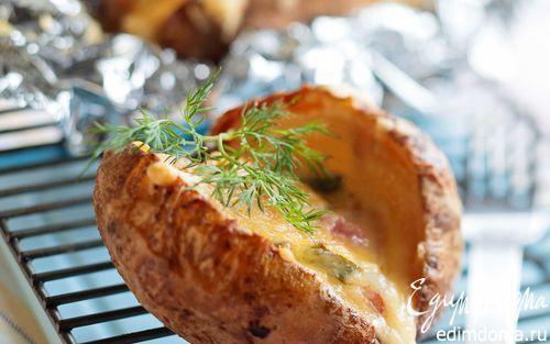 Картофель с начинкой   Кулинарные рецепты от «Едим дома!»