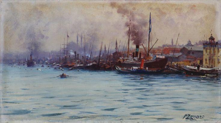 Müzayedede 'Oryantalistler' başlığı altında Fausto Zonaro'nun tabloları da satışa çıkacak.