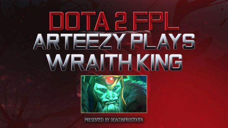 Dota 2 FPL Arteezy Plays Wraith King [1833382687]