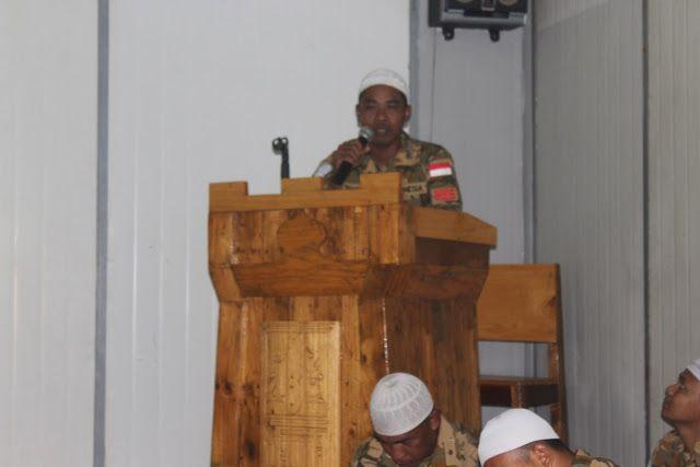 Kontingen Garuda Peringati Maulid Nabi Muhammad SAW di Pedalaman Afrika