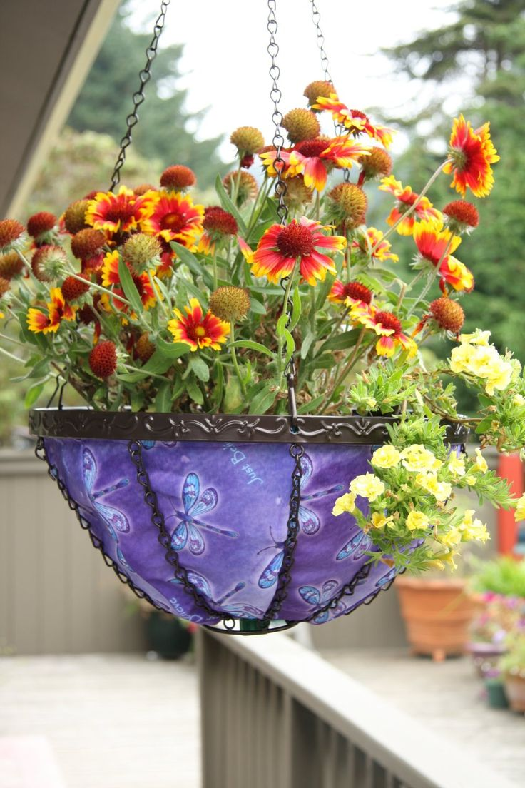 Stylish Fabric Hanging Art Planters Offer A Healthy Environment For Your Plants To Grow And