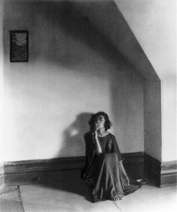 Betty Katz in Her Attic, 1920.  Edward Weston