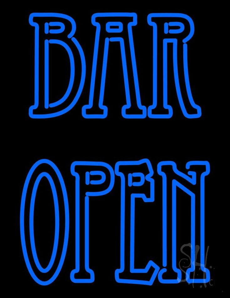 17 Best images about Bar Open Neon Signs on Pinterest