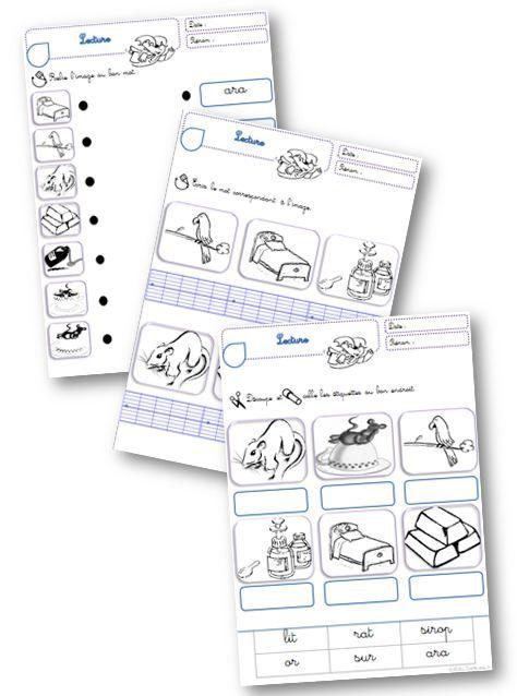 Taoki : exercices de lecture/écriture - Le petit cartable de Sanleane