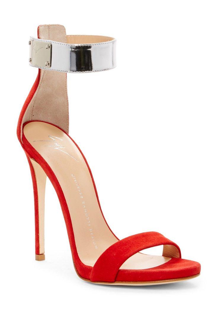 Fuscia Giuseppe Zanotti Alien Sandals Best Choice