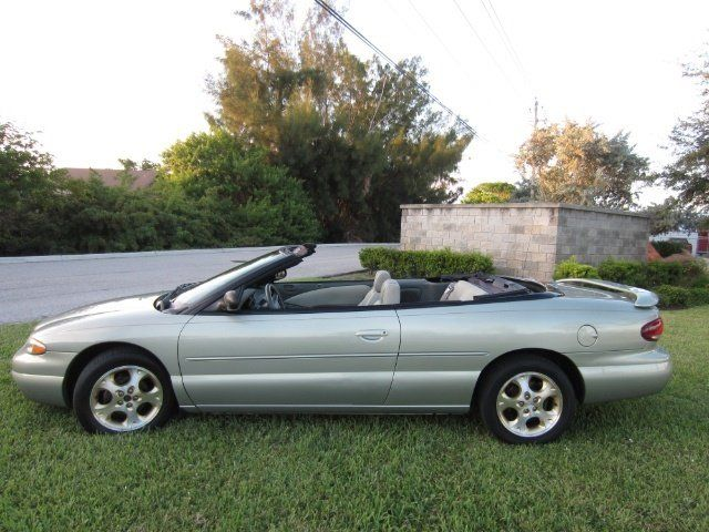 1999 Chrysler Sebring Jxi Convertible Just Because With Images