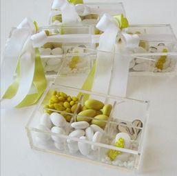 Scatole degustazione in plexiglass - EYDER DESIGN Wedding Stationery & much more