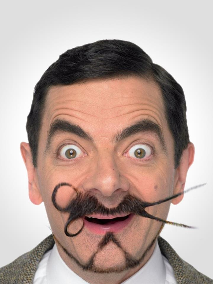 MrBean With His Crazy Facial Hair Cool Or Uncool Mustache - Mr incredibeard really coolest beard ever seen