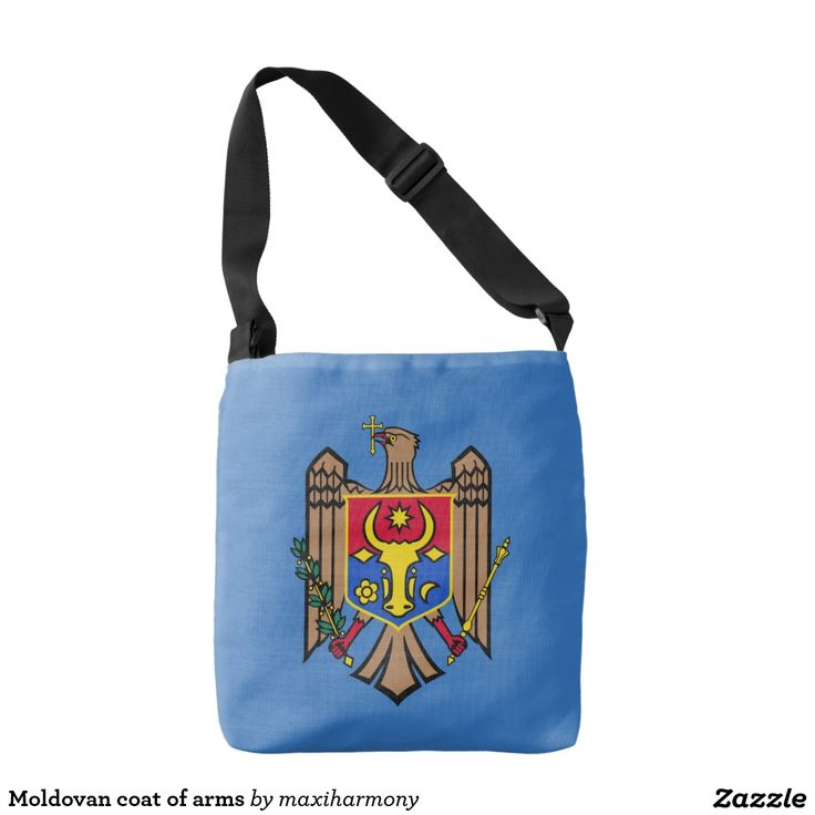 Moldovan coat of arms tote bag