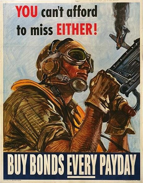 Vintage WW2 Poster. I love these posters.