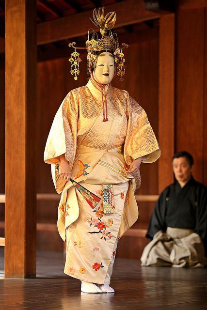 """能""""Hagoromo"""" 羽衣 by jumbokedama on Flickr."""