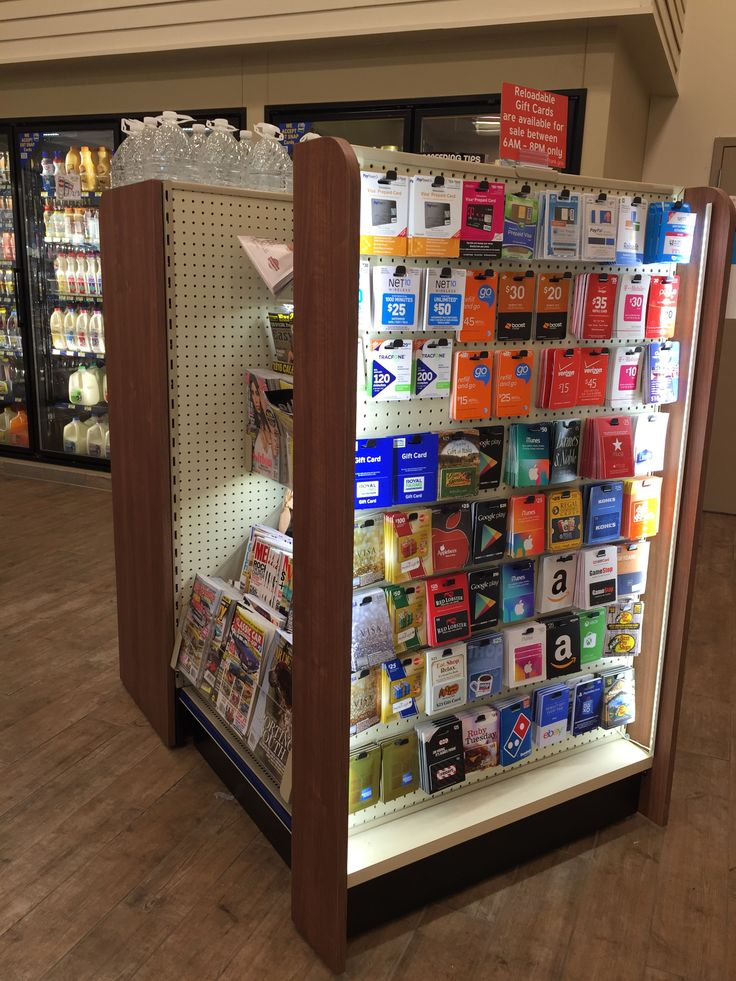 Handy Store Fixtures retail gondola shelving with end panels