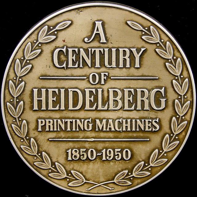 A CENTURY OF HEIDELBERG PRINTING MACHINES 1850-1950 by Leo Reynolds, via Flickr