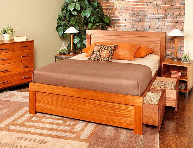 McKinnon Furniture - handcrafted hardwood furniture.
