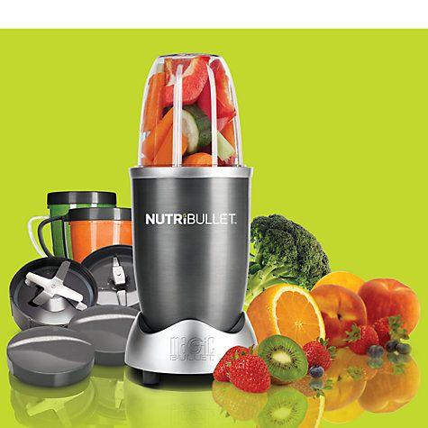 Buy NutriBullet 12 Piece 600 Series Juicer Blender Online at johnlewis.com