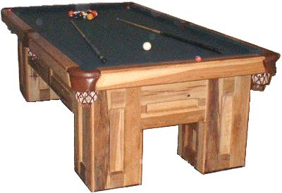 How to Build a Pool Table, Rustic Style