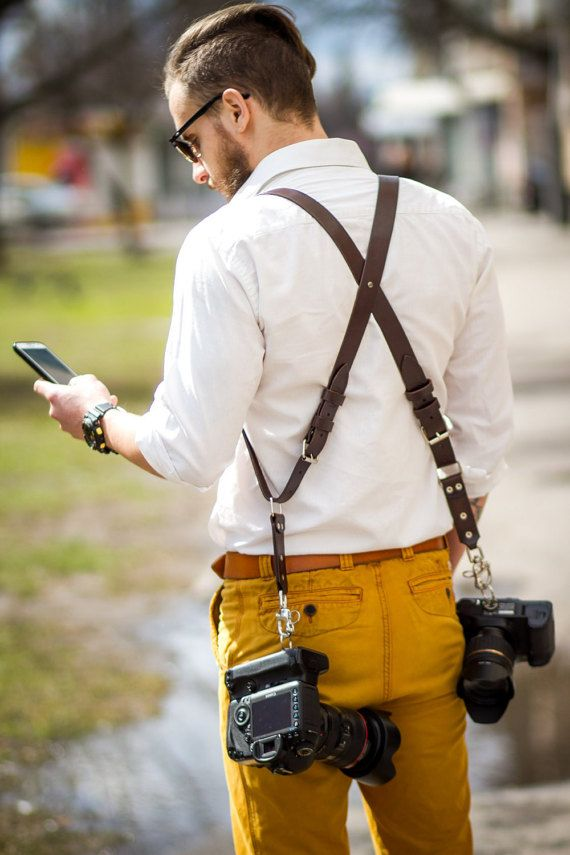 Double Shoulder Camera Strap Camera Strap Gift for by BroMGoods