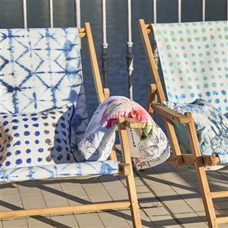 Sibylla Fuchsia Beach Towel | Designers Guild
