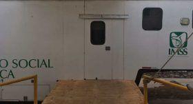 Ocho unidades moviles del IMSS dan atencion médica a mixtecos