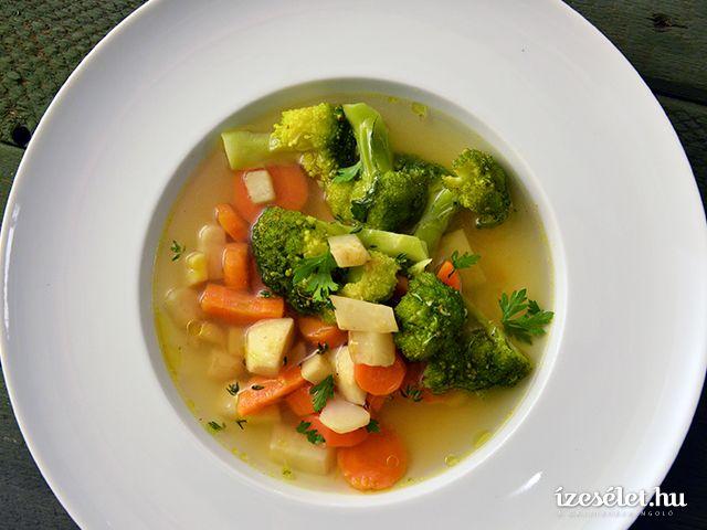 Brokkolis zöldségleves - Receptek | Ízes Élet - Gasztronómia a mindennapokra