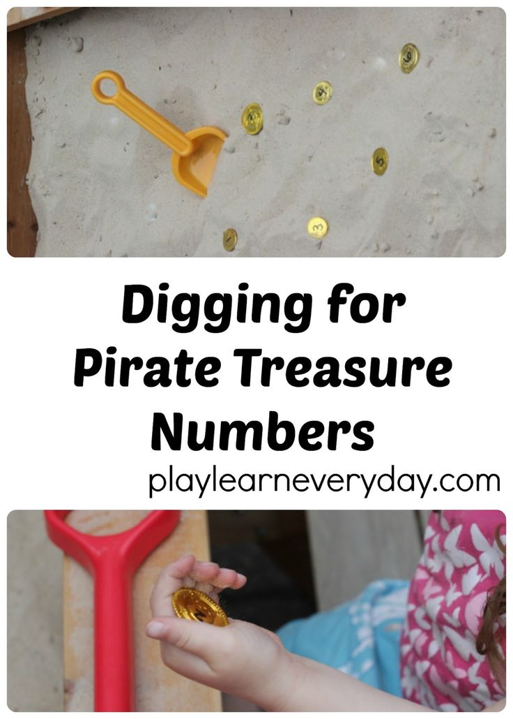 A fun and easy to set up activity to reinforce number recognition and simple addition with a pirate twist.