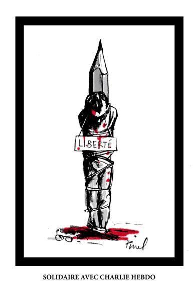 http://www.elle.fr/Societe/News/Charlie-Hebdo-les-illustrateurs-du-monde-entier-rendent-hommage-au-journal/Pinel-illustrateur-francais