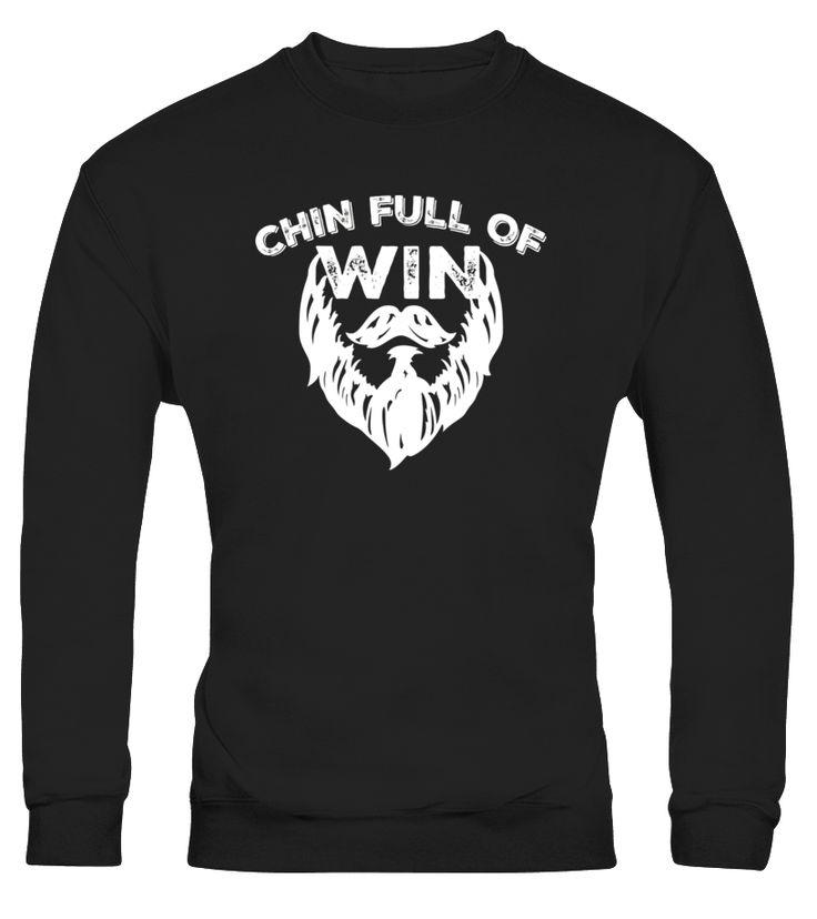 Chin Full Of Win Beard T-Shirt - Funny Men Facial Hair Tee - Limited Edition  Funny Lumberjack T-shirt, Best Lumberjack T-shirt