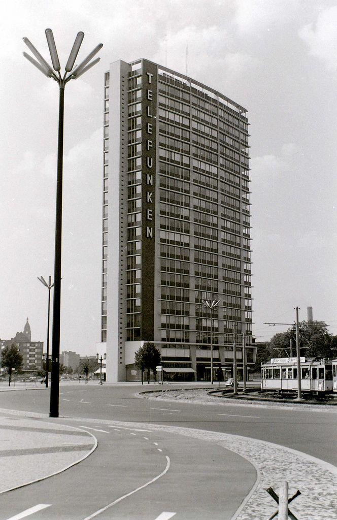 Ernst Reuter Platz, West Berlin, c. 30 July 1960