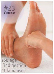 La réflexologie des pieds : L'estomac : Ce point réflexe soulage l'indigestion et la nausé