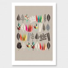 Botanical Assembly Print by Inaluxe