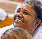 Amma, the Hugging Saint, or Mata Amritanandamayi, is known throughout the world as Mother, for her selfless love and compassion toward all beings. Her entire life has been dedicated to alleviating the pain of the poor and those suffering physically and emotionally. To date, she has hugged more than 12 million people, imparting to each of them her powerful vibration of pure love.