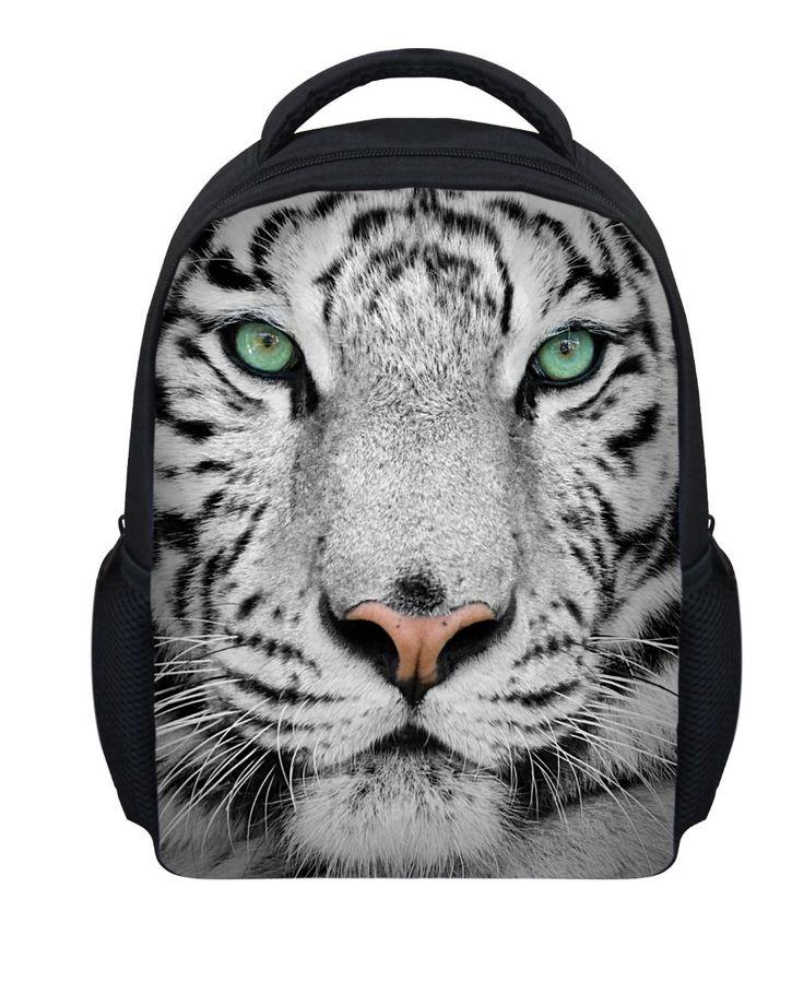 Nieuwe ontwerp 12 inch kinderen dier rugzak, 3d uil afdruk dierentuin schooltassen voor kinderen, stoere in van op Aliexpress.com