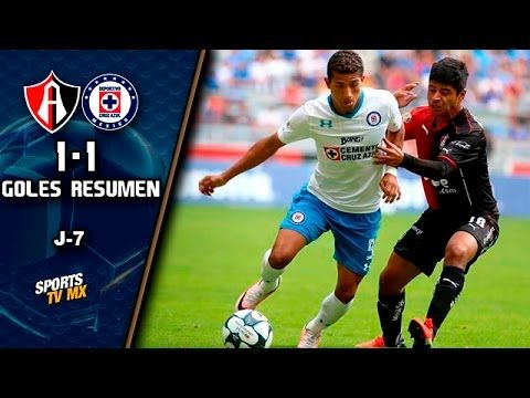 Atlas vs Cruz Azul - http://www.footballreplay.net/football/2016/08/28/atlas-vs-cruz-azul/