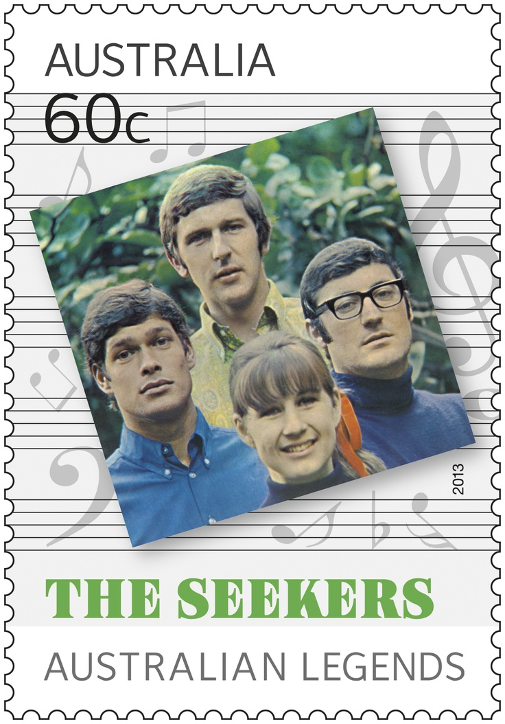 Here's our Australian Music Legend #stamp of The Seekers #legends
