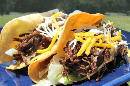 Chipotle Shredded Beef for Tacos or Burritos | Recipe