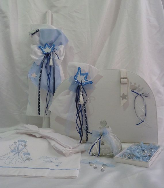 Baptism Set  Little Prince by BaptismSupplies on Etsy