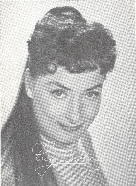 som den stærke dame Gunhild, i Tag til marked i Fjordby fra 1957.