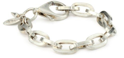 """Bing Bang """"Boyfriend"""" Chain Silver Bracelet Bing Bang. $54.00. Made in United States. A classic and timeless bing bang design. Silver - plated. Heavy duty chain links - 'boyfriend style', this bracelet is tough meets chic!"""