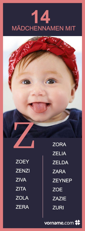 Du bist auf der Suche nach einem außergewöhnlichen Vornamen für Deine Tochter? In unserer Liste der Babyvornamen mit dem Anfangsbuchstaben Z erfährst Du mehr über die Bedeutung und Herkunft der Namen und wirst sicher fündig!