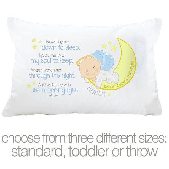 Personalized Pillowcase Toddler Pillow
