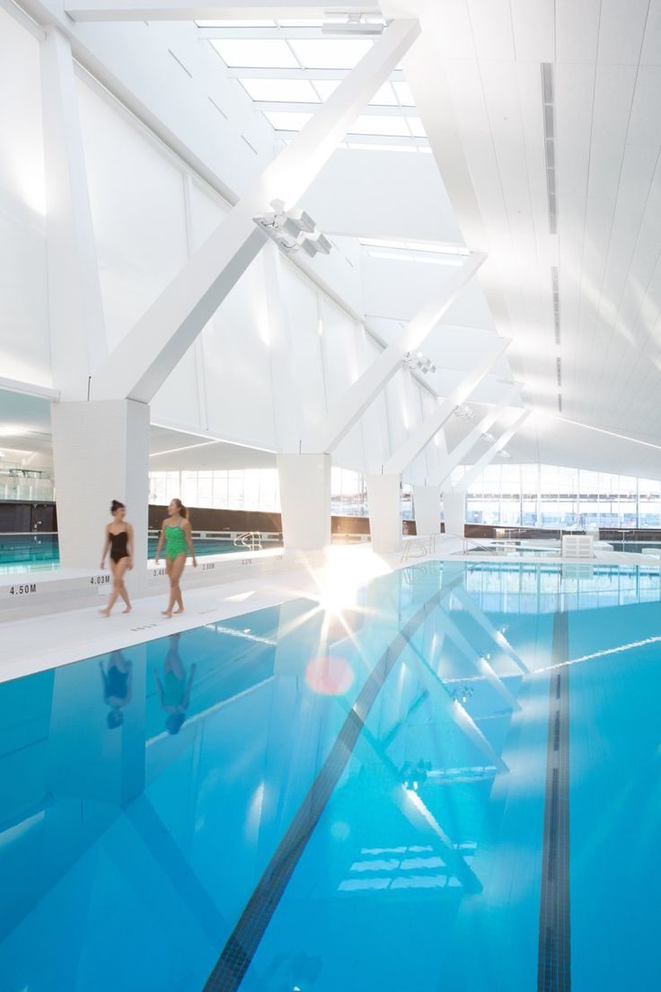 Completed In The Square Metre Aquatic Centre Is A Collaboration Of MJMA  (MacLennan Jaunkalns Miller Architects) And Acton Ostry Architects.