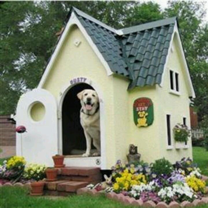 nice dog house - Beautiful Dog Houses
