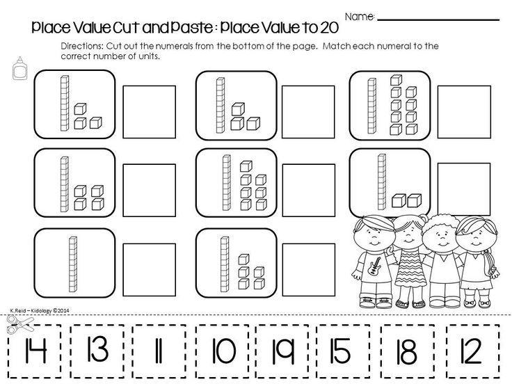 Place Value Worksheets Kindergarten Place Value Worksheets Kindergarten Worksheets Math Classroom Place value worksheets for kindergarten