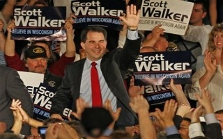 Wisconsin election, Republican Scott Walker Wins Wisconsin Recall Election